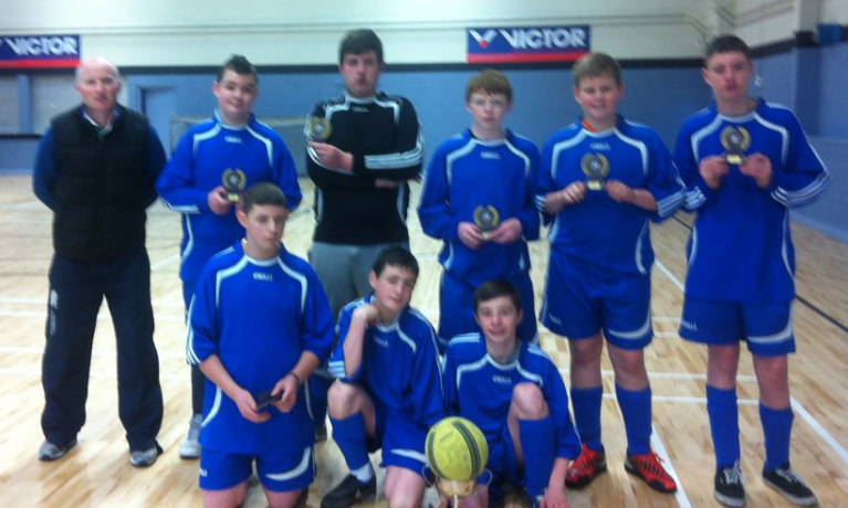 Dublin U15 Boys Indoor Soccer 2013