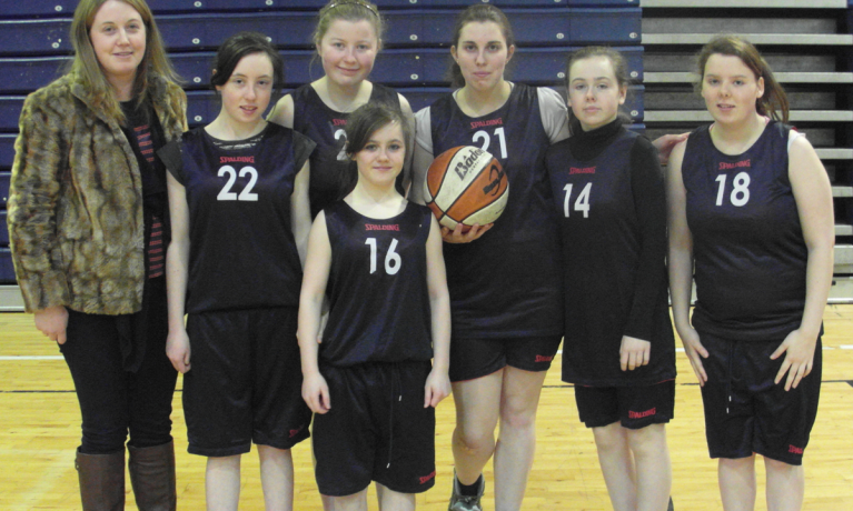 All Ireland Girls Basketball 2013