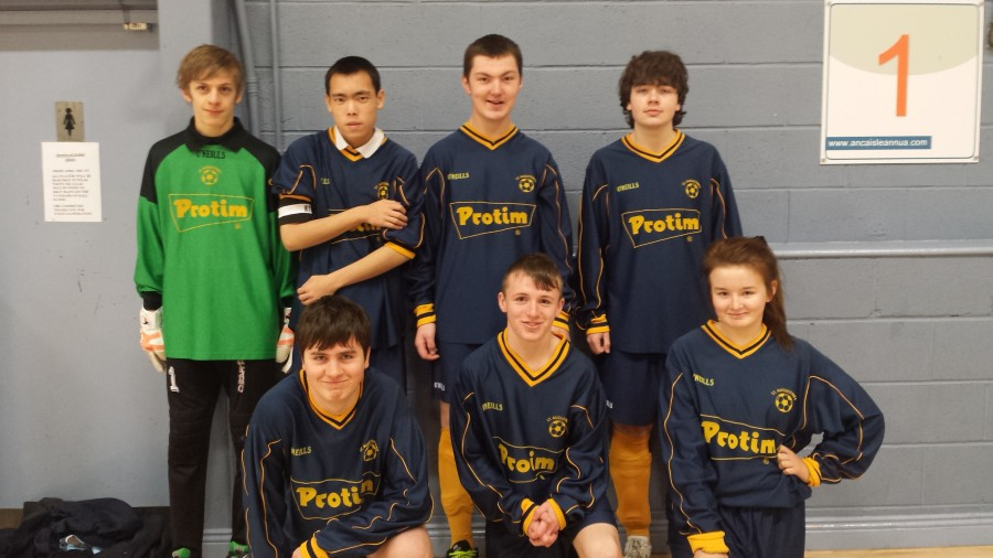 Dublin Senior B Indoor Football Blitz 2014