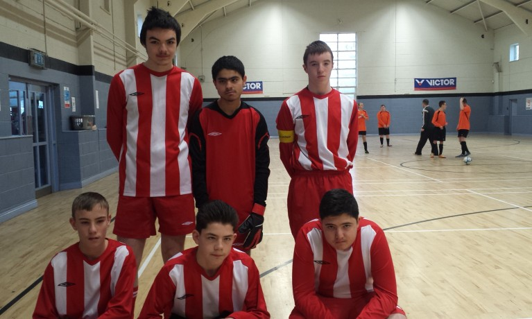 Dublin U18s Indoor Football Blitz 2015