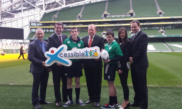 Launch of CARA's Xcessible Inclusive Youth Sport Initiative 'Adapted Tag Rugby Programme' 2015