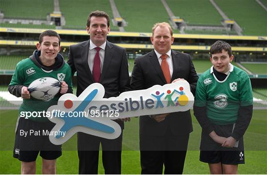 Irish Rugby TV: IRFU/Cara Xcessible Youth Sport Initiative 'Special Schools Tag Rugby'