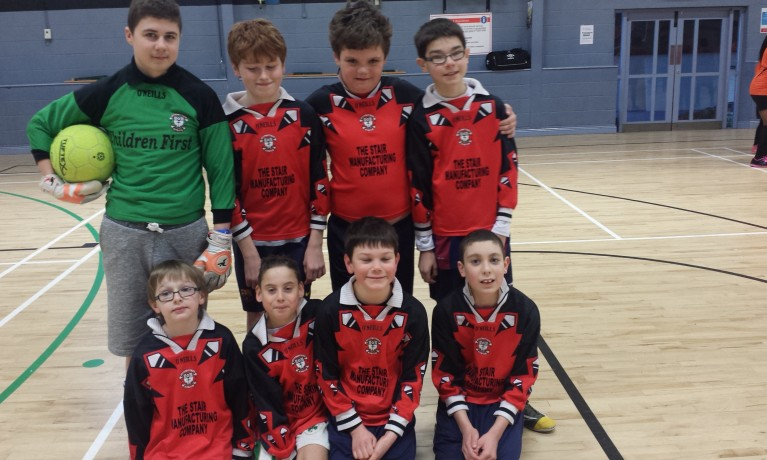 Dublin primary school indoor soccer 2015