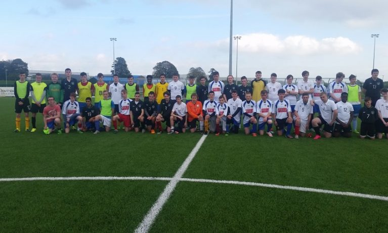FAI Football for All Trials National Training Campus Oct 2016