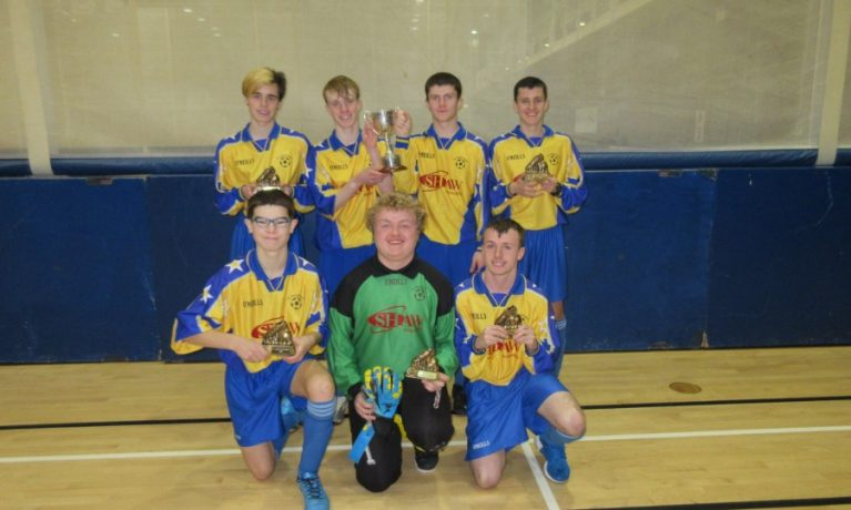 All Ireland Indoor Football Blitz December 2016