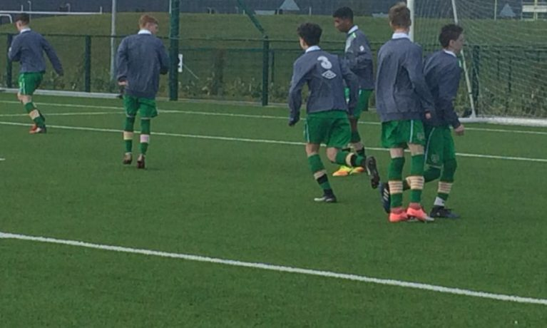 Irish Football for all Squad Training