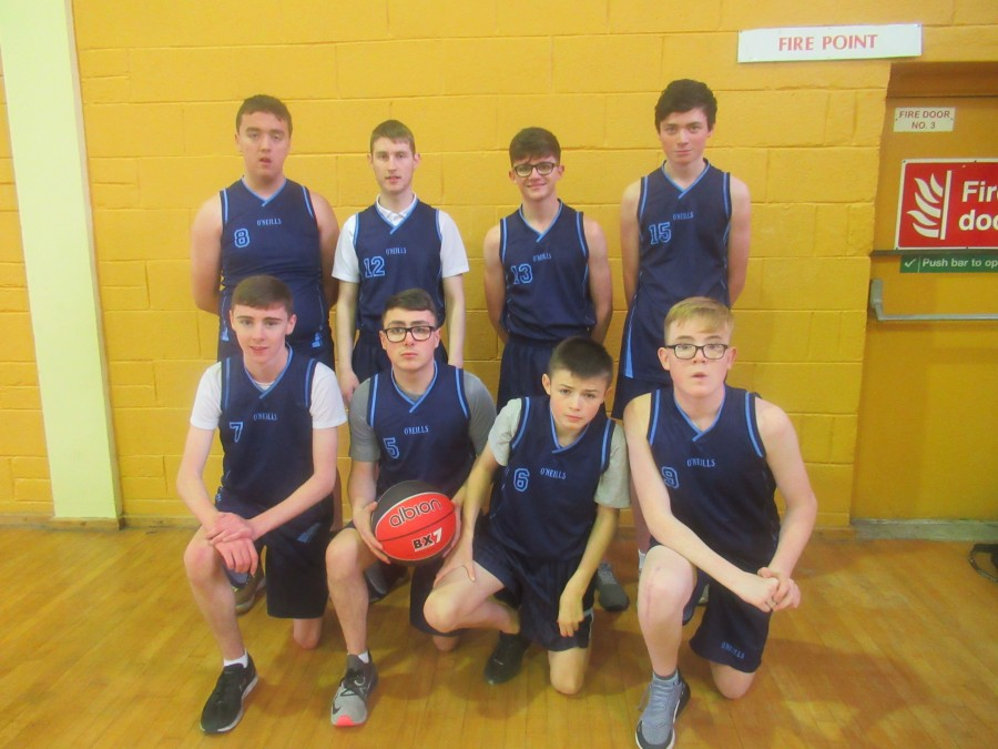 Dublin Boys Indoor Basketball 2018