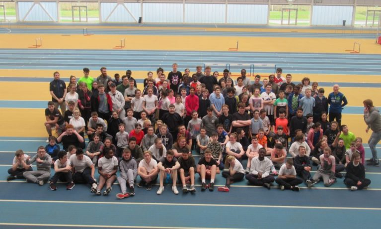 Athletics Coaching day National Indoor Arena